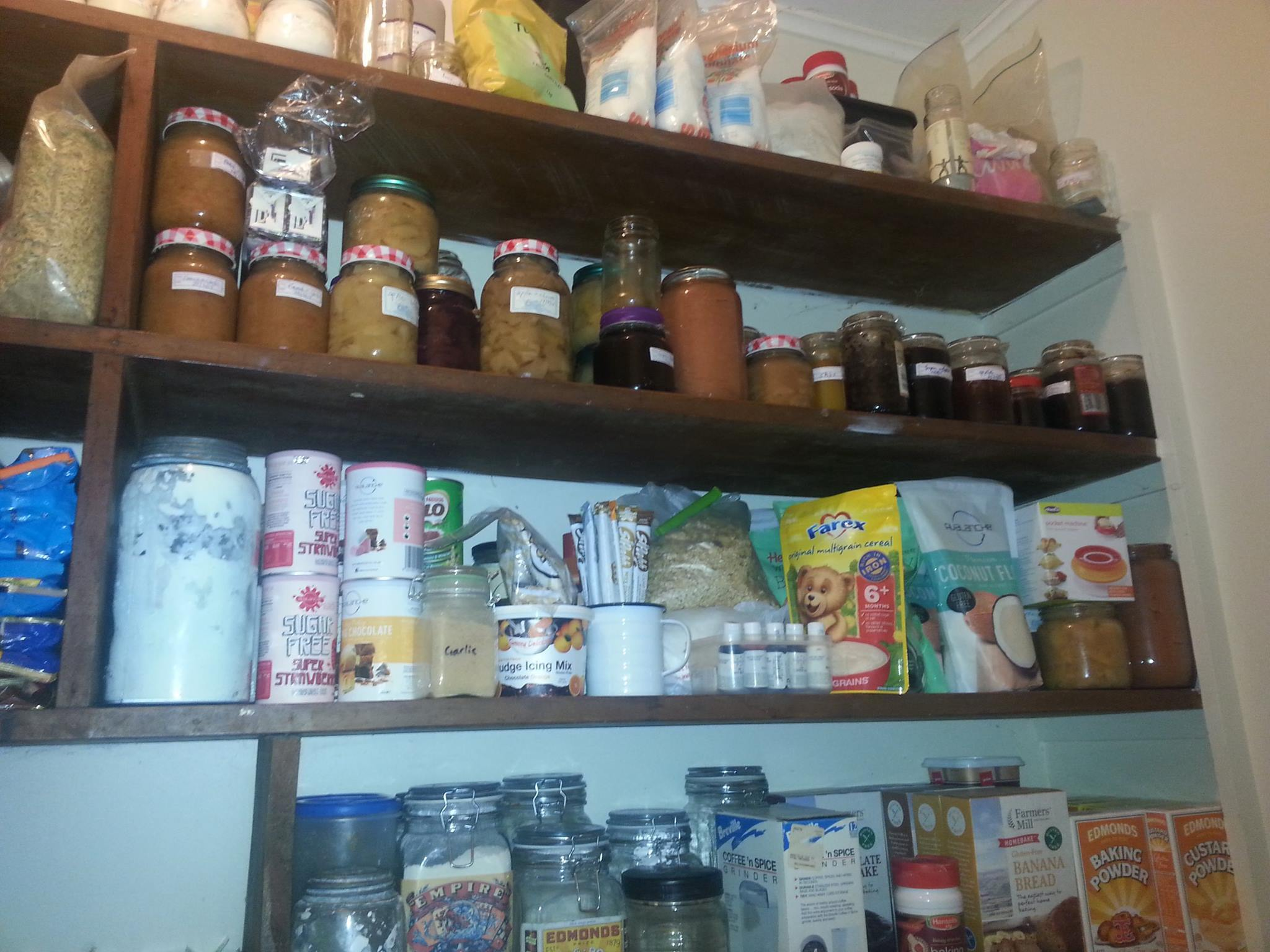 Stocking the cupboard